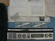 Vintage Conrad Boat Navigation Receiver System Df-1 Loran W/ Charts And Case Works