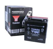 Yuasa Yix30l-bs Bmw R65 And03984-and03995 Motorcycle Agm Fresh Pack 12 Volt Battery