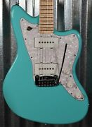Gandl Usa Doheny Turquoise Maple Satin Neck Guitar And Case 5333