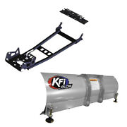 Kfi Atv Hybrid Snow Plow System With 48 Blade For 2009-2014 Arctic Cat 550 4x4