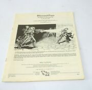 Vintage Tsr Dungeons And Dragons Bblizzard Pass Invisible Ink Module M1 73766 1983