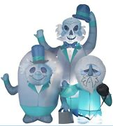 6ft Halloween Gemmy Haunted Mansion Ghosts Airblown Inflatable In Hand Rady Ship