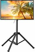 Tv Tripod Stand-portable Tv Stand For 37-75 Inch Led Lcd Oled Flat Screen Tvs