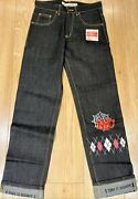 Time Is Money Baggy Classic Retro Jeans Mens And Boys Nyc Pants