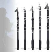 Telescopic Fishing Rods High Carbon Trout Travel Ultra Light Spinning Sea Poles