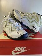 Nike Air Pippen White Black Rare Size 8 Sold Out 2015 325001-101