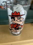 Vintage 1975 Looney Tunes Pepsi Glass Rcmp Dudley Do Right Small Version 5 Inch