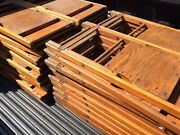 Lot Of 44 Vintage Same Wood Folding Chairs - Very Good