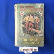 Boy Scout Vintage Book The Victory Boy Scouts Pathfinder With Dust Cover