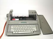 Brother Sx 4000 Portable Electronic Typewriter With Top Cover