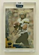 2016 Playoff Honors-2000 Rookies And Stars Longevity Auto Buyback Drew Brees 1/10