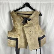 Wwii Us Coast Guard Navy Wilder And Son Life Vest