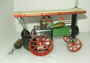 Vintage Mamod Steam Traction Engine Tractor T.e.1a With Original Box England