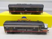 Genesis Cotton Belt F-7a And F-7b Powered Locomotive's Both Powered Ho Scale