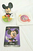 Disney Infinity Kingdom Hearts Mickey Power Disc D23 Exclusive And Mickey Figure
