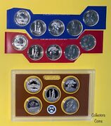 2013 Pds 15 Coin Atb National Park Quarter Set In Ogp With Clad Proofs