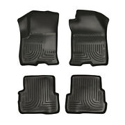 Husky Liners Weatherbeater 4 Pc Set Floor Mats Black For 2008-11 Ford Focus