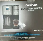 Cuisinart Ss-15p1 2-in -1 12 Cup Coffee Maker And Single Serve Brewer