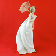 Lladro Afternoon Promenade 11 New In Box 7636 Society Piece 1995 Made Spain