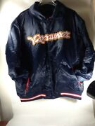Mens Rocawear Heavy Blue Bomber Jacket Plus Size 2x Blue Buy Now Or Best Offer