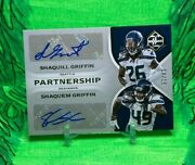 Shaquem Shaquill Griffin Pick Your Card Auto Jersey Patch Variation Seahawks