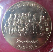 1792-1992 Us Mint Bicentennial Independence Mall Commemorative Medal Coin