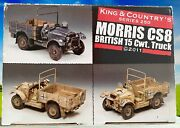 King And Country - Morris Cs8 - British 15 Cwt Truck - Lead Set Ak077 In Box 🔥