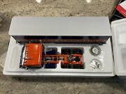 Nib First Gear 134 1953 Kenworth Bull Nose Coe Tractor With 35' Trailer Lionel