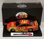 Ryan Blaney 2021 Lionel 12 Advance Auto Ford Mustang Elite 1/24 Free Ship