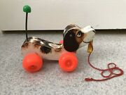 Fisher Price Little Snoopy Pull Toy Vintage 1965
