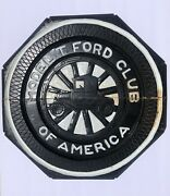 Vintage Model T Ford Club Of America Hand Crafted And Painted 18andrdquo Wooden Sign
