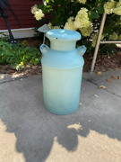 """Wonderful Old 10 Gallon Milk Can That Is 24"""" Tall And 13"""" Country Decorators"""