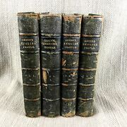 1880 John Green History Of The English People 19th Century Leather Bound Set