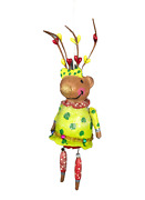 Penny Mcallister Midwest Cannon Falls Reindeer Girl Christmas Ornament With Box.