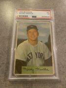 1954 Bowman Mickey Mantle Psa 1 Card 65 Great Eye Appeal Centered