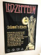 Led Zeppelin Stairway To Heaven Lyrics Poster Flag Banner Fabric Wall Tapestry