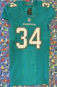 Rare Authentic Nike Nfl Miami Dolphins Arian Foster Football Jersey