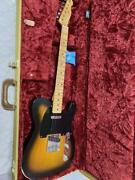 Fender Mex Roadworn Telecaster Type 2019 Electric Guitar With Gig Bag Used Good