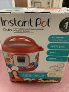The Pioneer Woman Instant Pot Duo60 7-in-1 Frontier Rose 6-quart Programable...