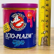 Rare The Real Ghostbusters Ecto-plazm Play Gel Tub Vintage 1986 Pot Kenner Toys