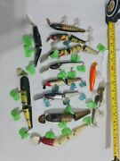 The Creek Chub Job Lot Lures Ideal For Resale Collectors Etc