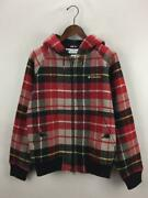 Columbia S Wool Red Check Aderas Jacket Red Wool Fashion Parka