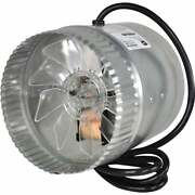 Suncourt 160 To 250 Cfm 6 In. In-line Duct Air Booster Fan Db206c Pack Of 6