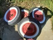 1955 And 1956 Chevrolet And 1956 And 1957 Corvette Original Gm Wheels Set Of 4