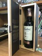 Very Rare Vintage Item Ballantines Scotch Whisky Empty Bottle And Box From Japan