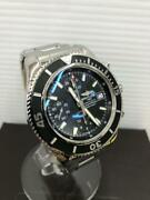 Auth Breitling Watch Superocean A13311c9/bf98 Automatic 42mm Chronograph F/s