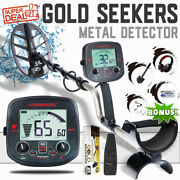 Bi03 Metal Detector For Adults Gold Prospecting Waterproof Coil And Accessories