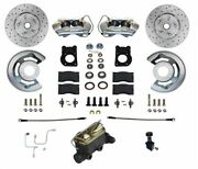Leed Brakes Fc0001h405ax 1964.5-1966 Ford Mustang Front Disc Brake Conversion