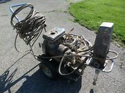 Paint Sprayer Gas Engine Powered Commercial Industrial Sprayer With Lots Of Hose