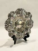 Antique Edwardian Reed And Barton Sterling Silver Repousse Francis I Candy Dish